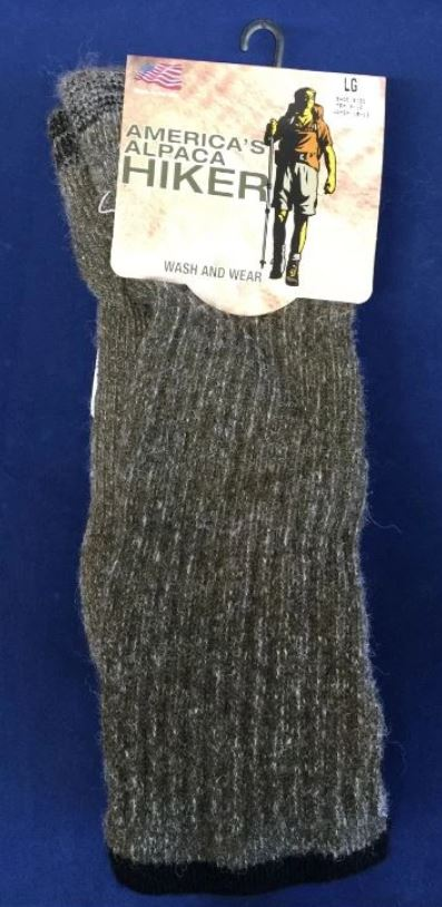 AFCNA America's Alpaca Hiker Socks