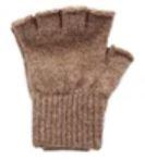 Alpaca Work/Play Fingerless Gloves