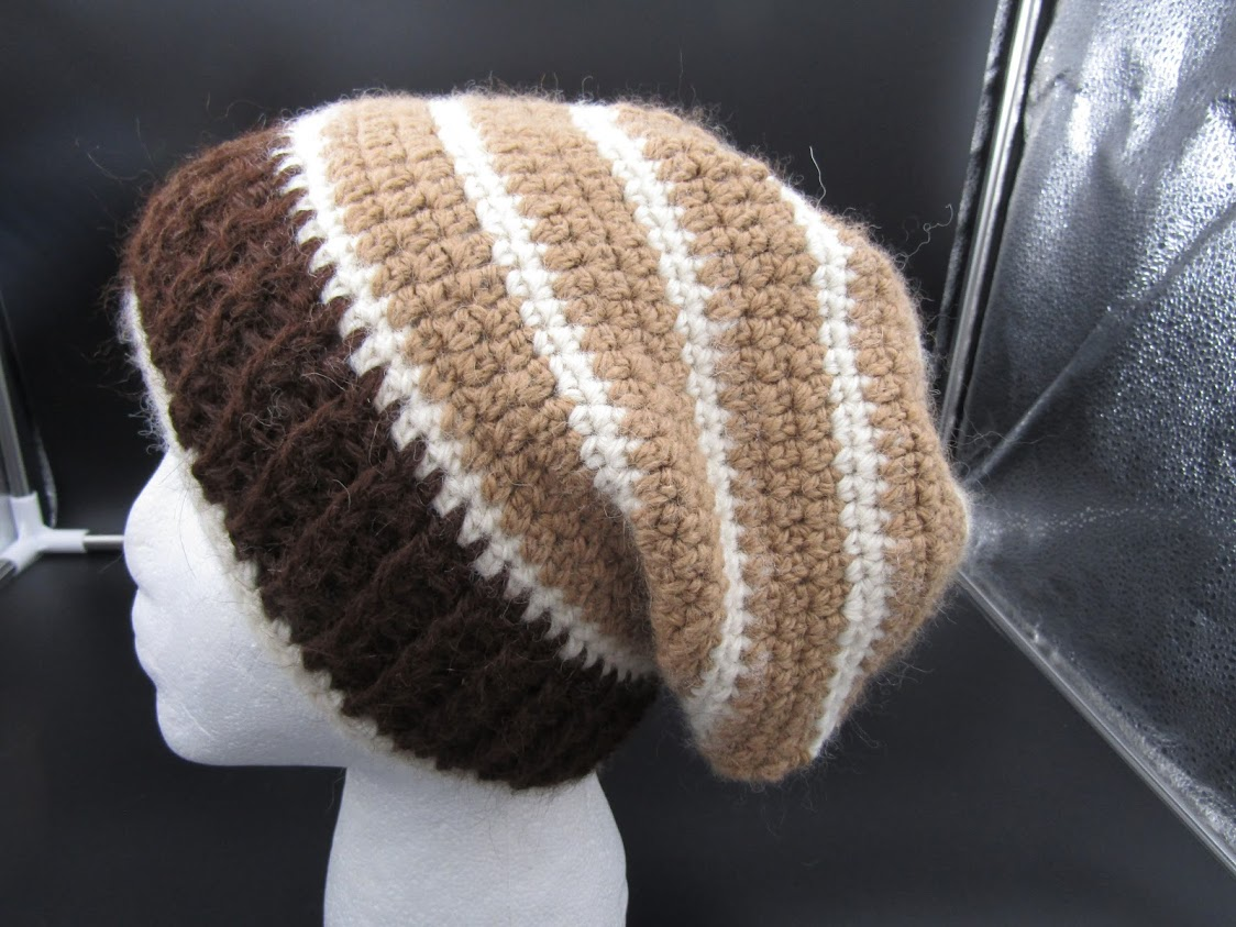 3 colored Slouch Hat