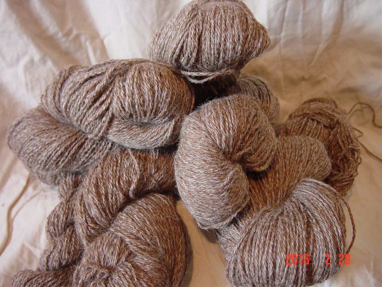 Worsted weight 300 yd skein